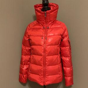 Ralph Lauren Women's Down Coat Jacket Red Small
